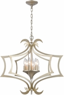 ELK 12064-6 Delray Contemporary Aged Silver Entryway Light Fixture
