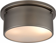 ELK 12110-2 Flushes Modern Black Nickel 10  Ceiling Lighting Fixture