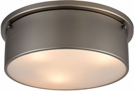 ELK 12111-3 Flushes Contemporary Black Nickel 14  Ceiling Light Fixture