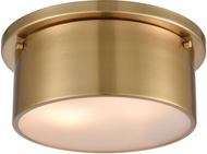 ELK 12120-2 Flushes Modern Satin Brass 10  Flush Lighting
