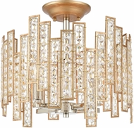 ELK 12131-4 Equilibrium Matte Gold / Polished Nickel Overhead Lighting