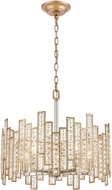 ELK 12134-5 Equilibrium Matte Gold / Polished Nickel 19  Drop Lighting Fixture