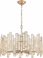 ELK 12135-6 Equilibrium Matte Gold / Polished Nickel 24  Pendant Lighting