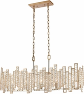 ELK 12136-5 Equilibrium Matte Gold / Polished Nickel Island Lighting