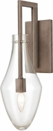 ELK 12290-1 Culmination Modern Weathered Zinc Wall Lighting
