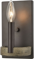 ELK 12310-1 Transitions Oil Rubbed Bronze / Aspen Lighting Sconce