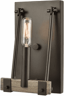 ELK 12312/1 Transitions Contemporary Oil Rubbed Bronze / Aspen Wall Lighting