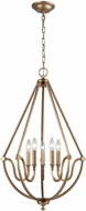 ELK 12842-5 Stanton Modern Matte Gold Foyer Lighting