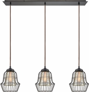 ELK 14246-3LP Yardley Contemporary Oil Rubbed Bronze Multi Hanging Light