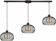 ELK 14293-3L Yardley Modern Oil Rubbed Bronze Multi Lighting Pendant