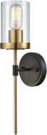 ELK 14550-1 North Haven Contemporary Oil Rubbed Bronze,Satin Brass Sconce Lighting