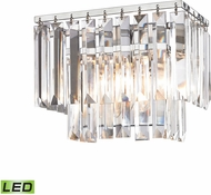 ELK 15210-1-LED Palacial Polished Chrome LED 10  Bathroom Vanity Lighting