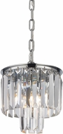 ELK 15214-1 Palacial Polished Chrome Drop Lighting