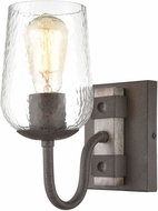 ELK 15370-1 Dillon Contemporary Vintage Rust / Colonial Maple Wall Lighting Fixture