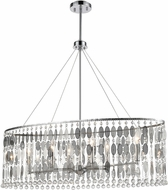 ELK 15383-6 Chamelon Polished Chrome Kitchen Island Lighting