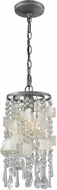 ELK 15934-1 Alexandra Weathered Zinc Foyer Lighting Fixture