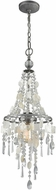 ELK 15937-1 Alexandra Weathered Zinc Entryway Light Fixture