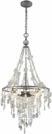 ELK 15938-5 Alexandra Weathered Zinc Foyer Lighting
