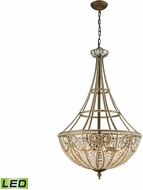 ELK 15966-8-LED Elizabethan Dark Bronze LED Drop Lighting Fixture