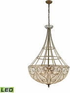 ELK 15967-10-LED Elizabethan Dark Bronze LED Pendant Light