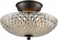 ELK 16041-2 Sweetwater Contemporary Oil Rubbed Bronze Flush Mount Lighting