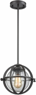 ELK 16163-1 Aubridge Modern Oil Rubbed Bronze Mini Drop Lighting Fixture