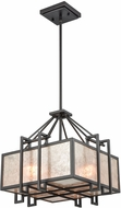 ELK 16184-3 Stasis Contemporary Oil Rubbed Bronze 17  Pendant Light Fixture