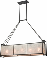 ELK 16186-5 Stasis Contemporary Oil Rubbed Bronze Kitchen Island Light