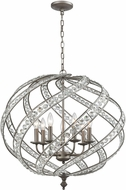 ELK 16249-7 Renaissance Weathered Zinc 28  Drop Ceiling Lighting