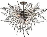 ELK 16363-8 Naples Dark Graphite 35  Ceiling Light