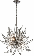 ELK 16364-8 Naples Dark Graphite 26  Ceiling Pendant Light