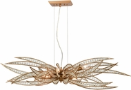 ELK 16765-6 Naples Modern Matte Gold Kitchen Island Light Fixture