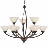ELK 17648-6-3 Contemporary Oil Rubbed Bronze Lighting Chandelier