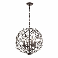 ELK 18134-4 Circeo Modern Deep Rust Drop Lighting Fixture