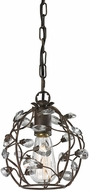 ELK 18141-1 Sagemore Bronze Rust Mini Pendant Lighting Fixture