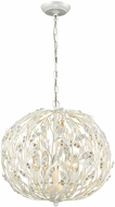 ELK 18185-5 Trella Pearl White Drop Ceiling Lighting