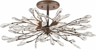 ELK 18254-4 Crislett Sunglow Bronze 28  Ceiling Light Fixture