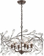 ELK 18259-6 Crislett Sunglow Bronze 23  Pendant Light