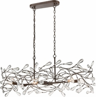 ELK 18261-6 Crislett Sunglow Bronze Island Light Fixture