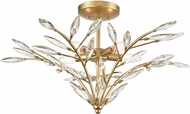 ELK 18293-5 Flora Grace Contemporary Champagne Gold Overhead Lighting