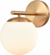 ELK 18313-1 Hollywood Blvd. Modern Satin Brass Wall Light Sconce