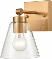 ELK 18333-1 East Point Modern Satin Brass Wall Lighting Fixture