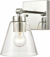 ELK 18343-1 East Point Contemporary Polished Chrome Wall Light Sconce