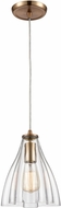 ELK 21172-1 Matilda Modern Satin Brass Mini Pendant Lighting