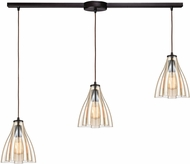 ELK 21182-3L Matilda Modern Oil Rubbed Bronze Multi Hanging Lamp