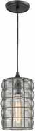 ELK 25123-1 Murieta Contemporary Oil Rubbed Bronze Mini Pendant Lamp