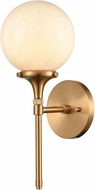 ELK 30140-1 Beverly Hills Modern Satin Brass Wall Lamp