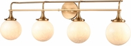 ELK 30144-4 Beverly Hills Modern Satin Brass 4-Light Bathroom Lighting