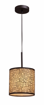 ELK 310451 Medina Contemporary Mini Pendant Light in Aged Bronze