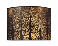 ELK 310702 Woodland Sunrise 2-light Contemporary Rustic Pocket Wall Sconce